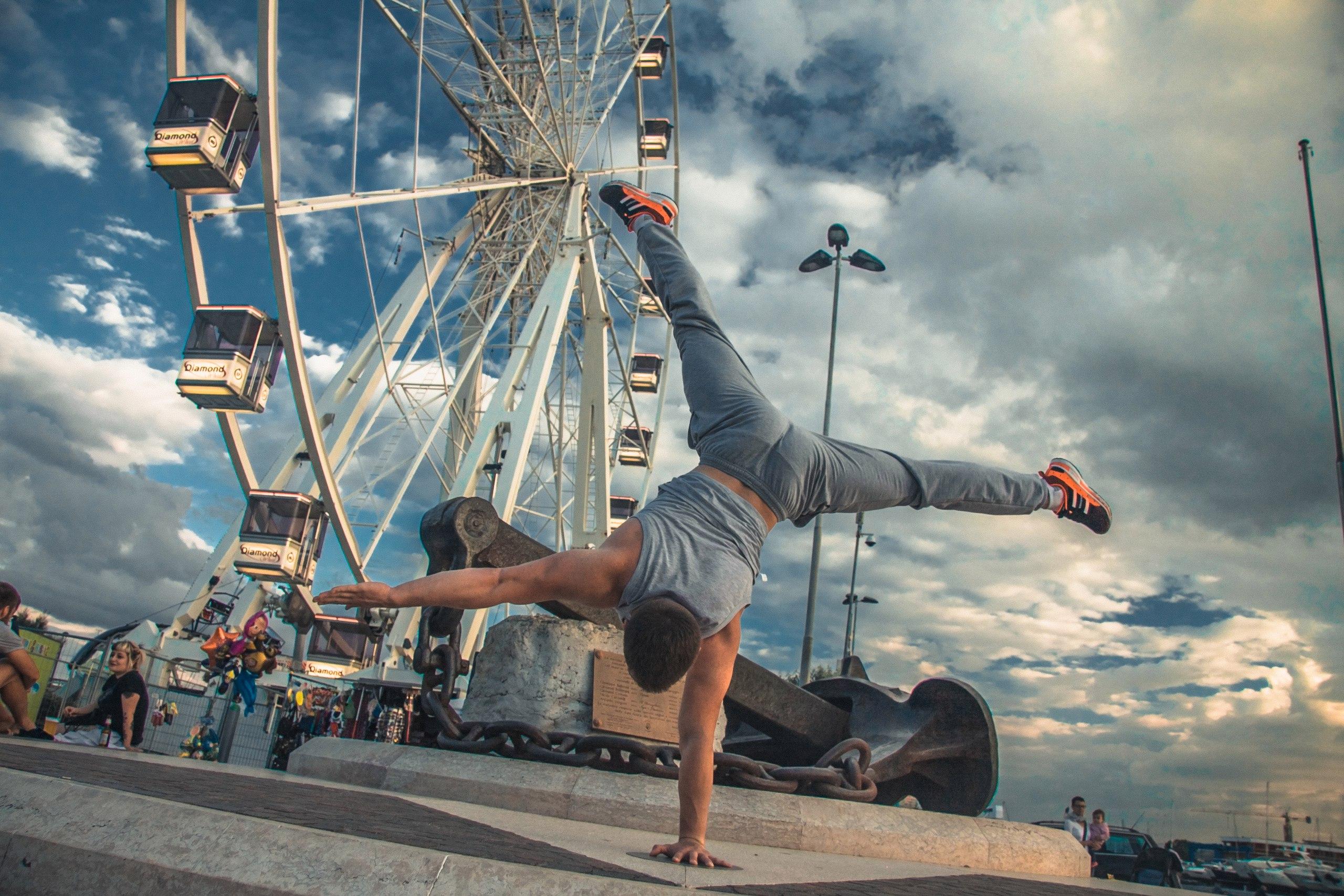 акробатика для детей и взрослых