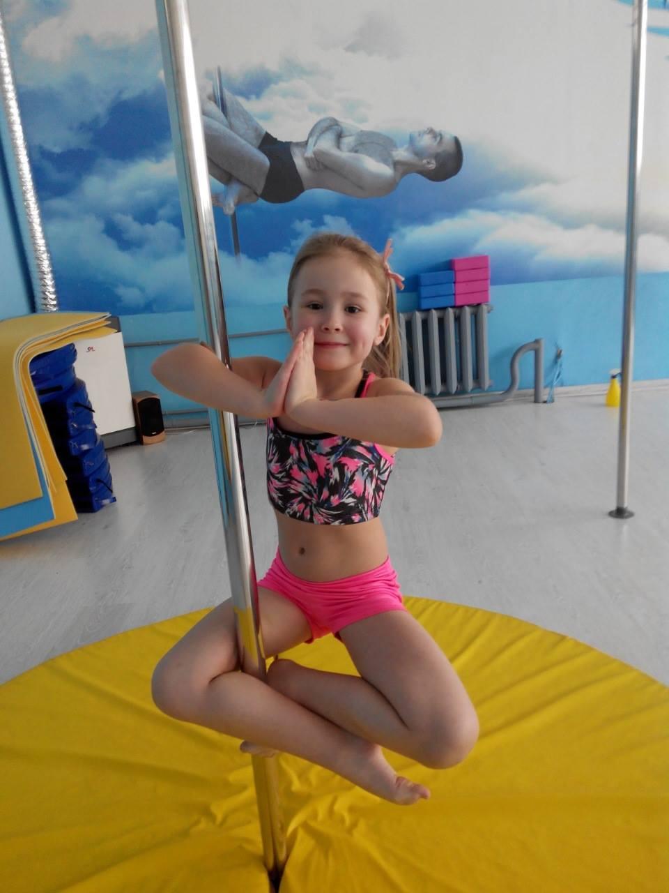 pole dance для детей