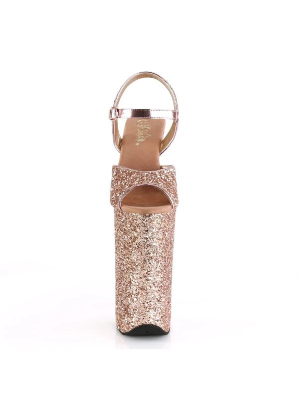 Босоножки-пятерки BEY010LG/ROGLDG/M Розовое золото