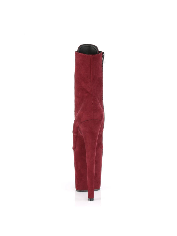 Ботинки-тройки FLAM1020FS/BYFS/M Бордо с закрытым носком