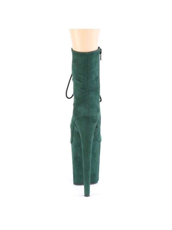 Ботинки-тройки FLAM1020FS/BYFS/M Зелёные с закрытым носком