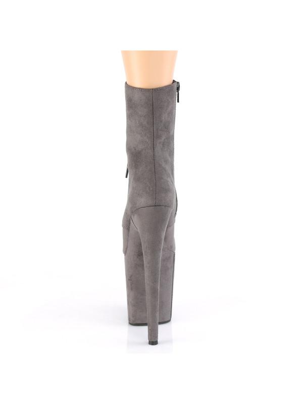 Ботинки-тройки FLAM1020FS/GYFS/M Серые с закрытым носком