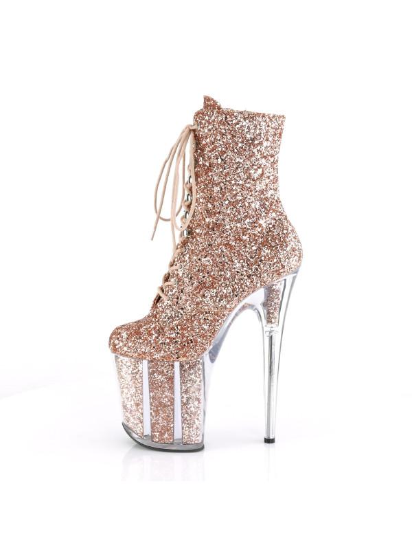 Ботинки-тройки FLAM1020G/ROGLDG/M Розовое золото