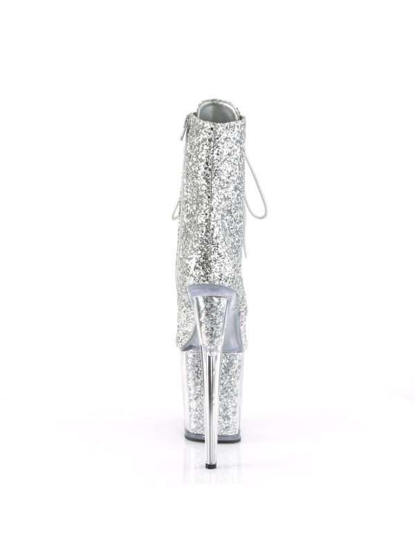 Ботинки-тройки FLAM1020G/SG/M Серебро