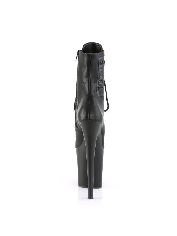 Ботинки-тройки FLAM1020PK/BPU/M Черные