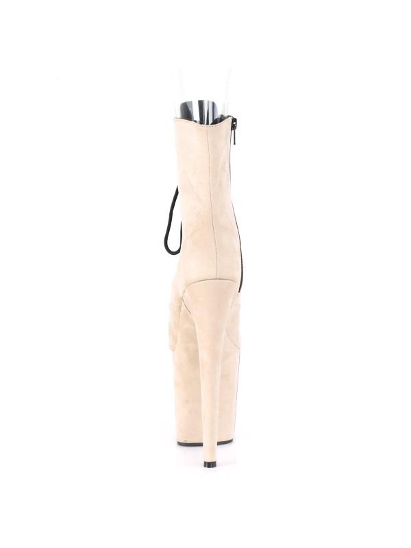 Ботинки-тройки FLAM1021FS/BEFS/M Бежевые с открытым носком