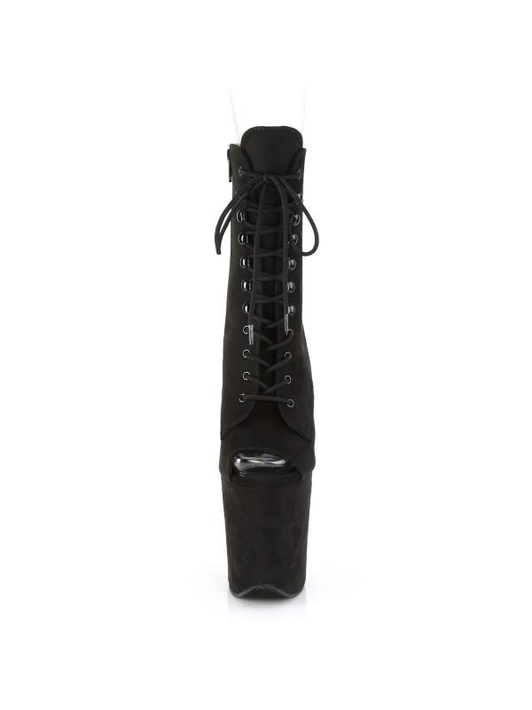 Ботинки-тройки FLAM1021FS/BPFS/M Чёрные открытым носком