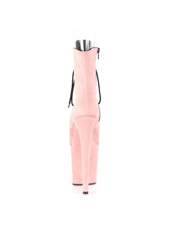 Ботинки-тройки FLAM1021FS/BPFS/M Розовые с открытым носком