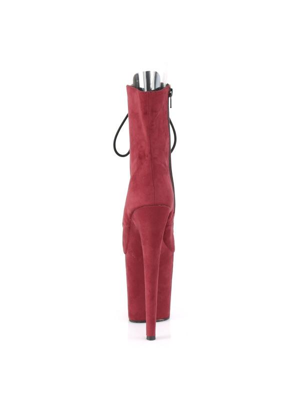 Ботинки-тройки FLAM1021FS/BYFS/M Бордо с открытым носком