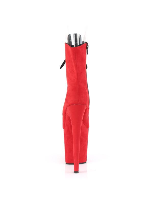 Ботинки-тройки FLAM1021FS/RFS/M Красные с открытым носком