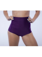 Высокие шорты для тренировок Фиолетовые