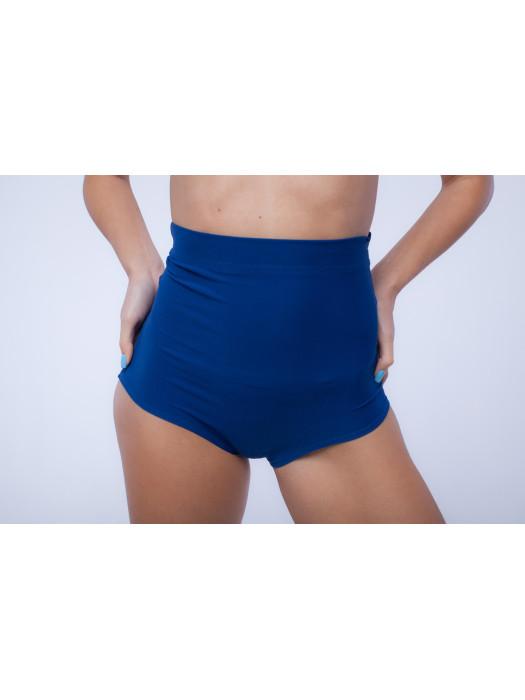 Высокие шорты для тренировок Синие
