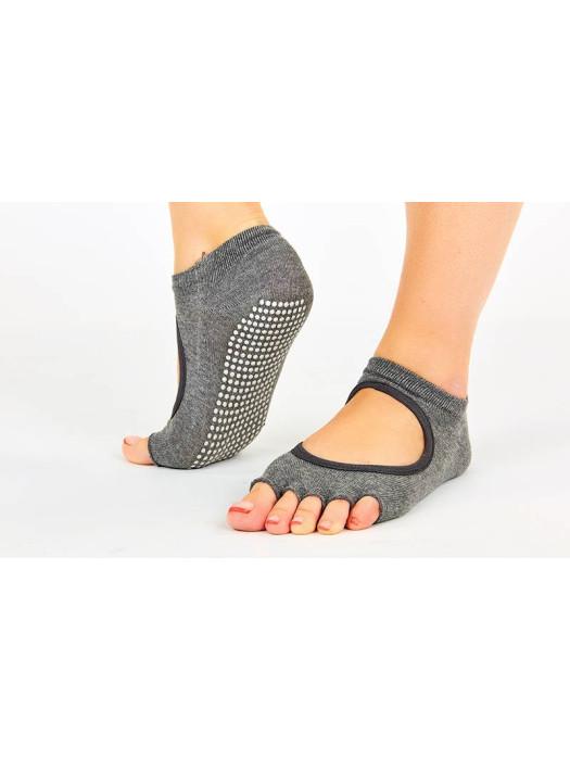 Носки для йоги и pole dance Серые