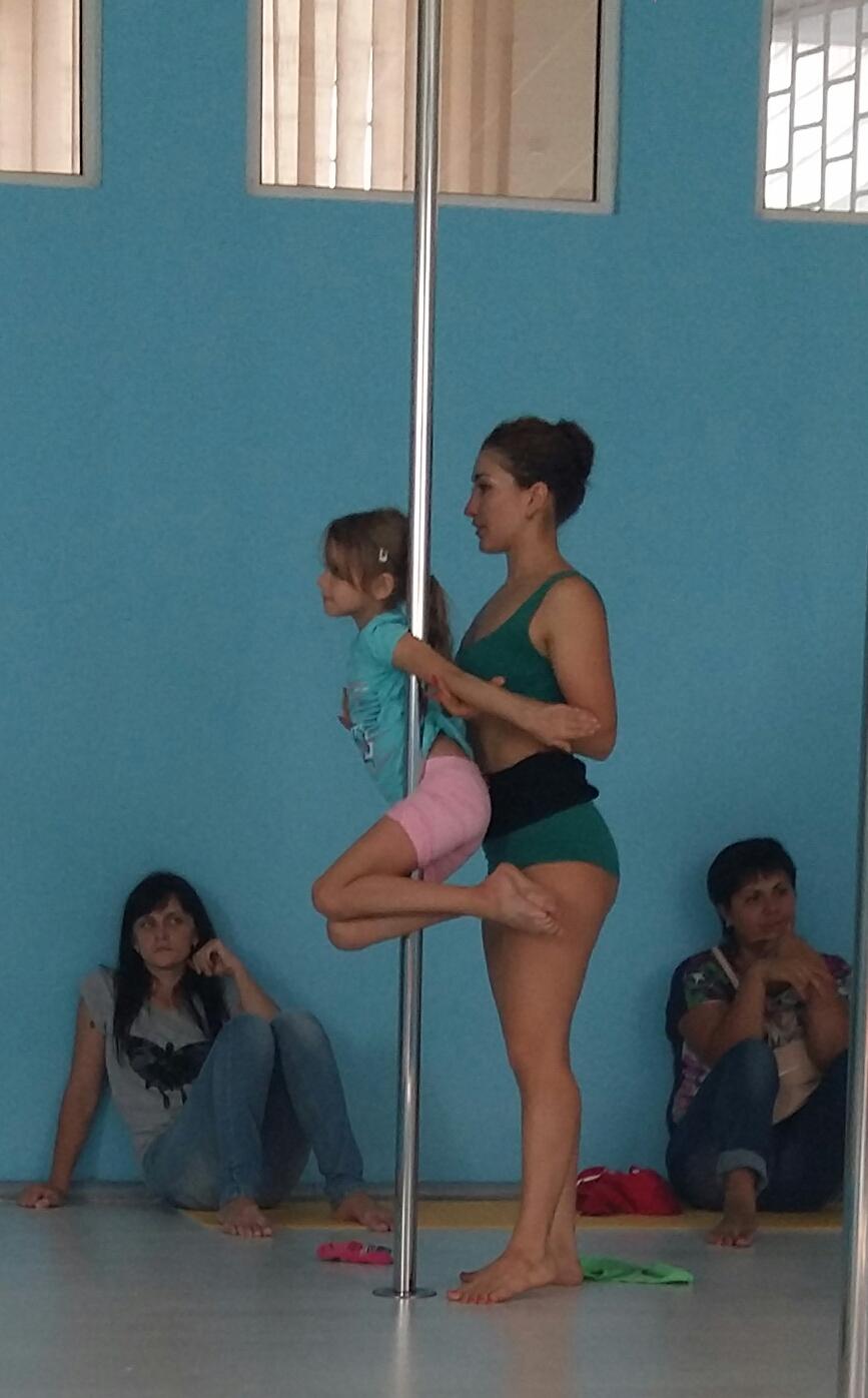 pole dance для детей киев